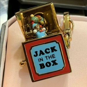 Juicy Couture Jack In The Box Charm